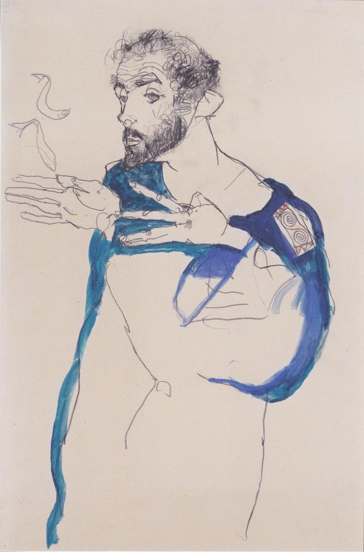 Egon_Schiele_-_Gustav_Klimt_im_blauen_Malerkittel_-_1913.jpeg